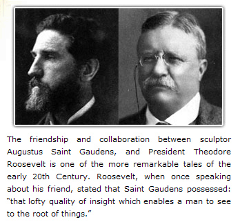 Saint-Gaudens & Roosevelt
